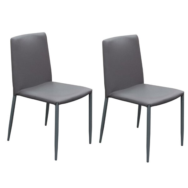 Joseline Upholstered Dining Chair (Set of 2) by Orren Ellis