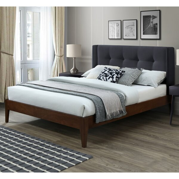 Birdsall Conway Queen Upholstered Platform Bed by Canora Grey