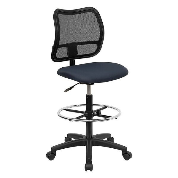 Mid-Back Mesh Drafting Chair by Offex
