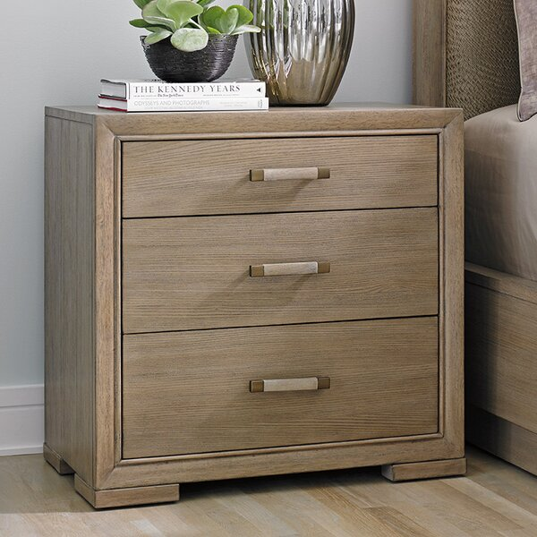Shadow Play Marceline 3 Drawer Bachelors Chest by Lexington