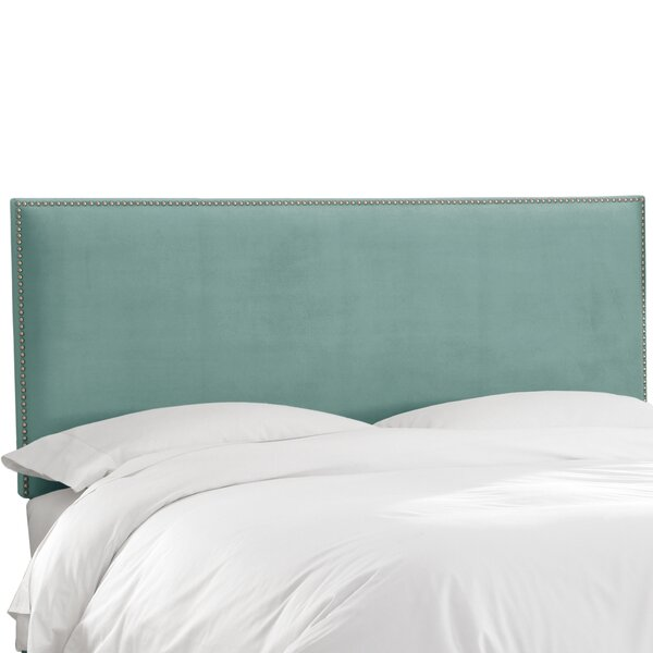 Burhardt Upholstered Panel Headboard by Beachcrest Home