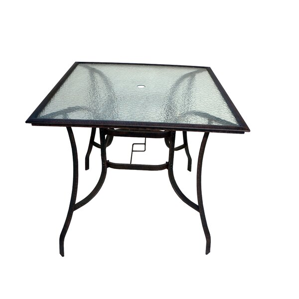 Terresa Aluminum Bar Table by Red Barrel Studio