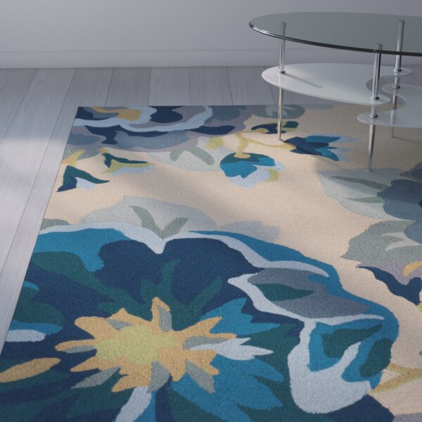 Dixfield Cobalt Indoor/Outdoor Area Rug by Ebern Designs