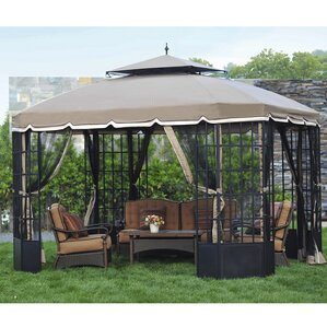 Replacement Mosquito Netting For Cambridge Gazebo