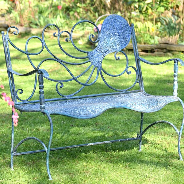 Ziemba Octopus Back Garden Bench by Breakwater Bay