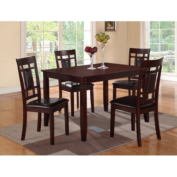 Ana 5 Piece Dining Set by A&J Homes Studio