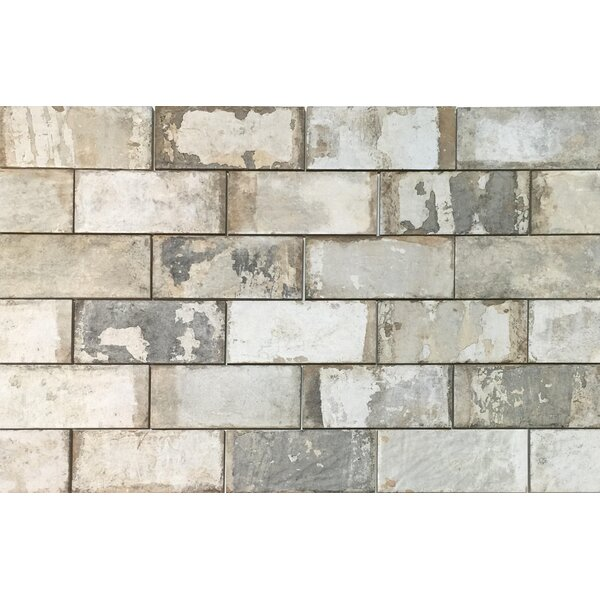Havana 4 x 8 Porcelain Subway Tile in Malecon by Tesoro
