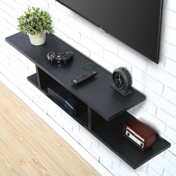 Pinkerton Floating TV Stand By Symple Stuff