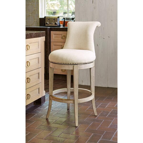 Ionic Swivel Bar Stool by Ambella Home Collection