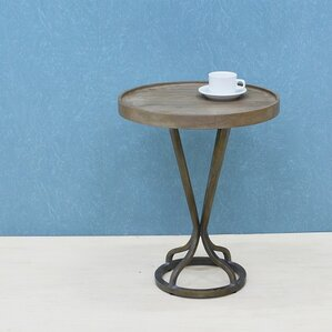 Vintage Industrial Tray Table by Patina Vie