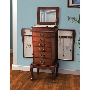 Cahokia Maya Jewelry Armoire by Darby Home Co