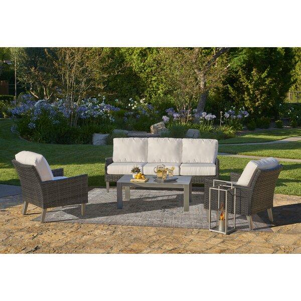 Gales Outdoor Conversation Set by Ebern Designs
