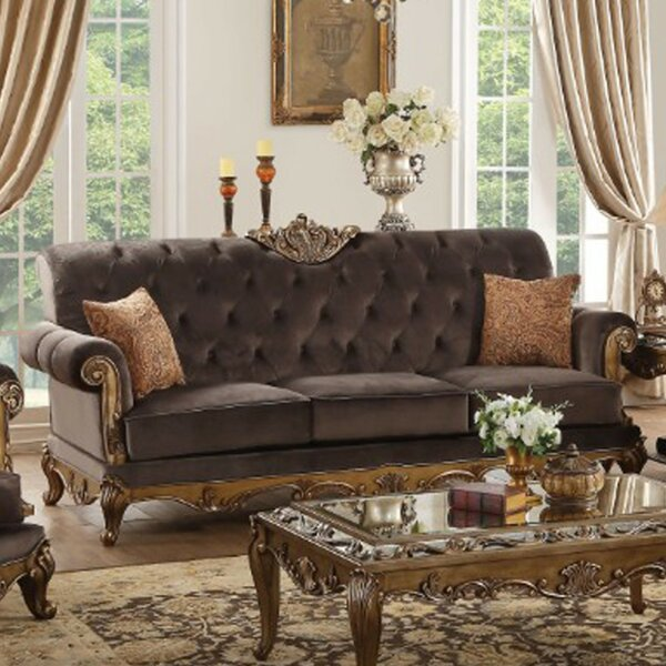 Classy Truitt Upholstered Sofa by Astoria Grand by Astoria Grand