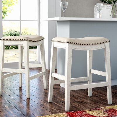 Counter 24 Quot 27 Quot White Bar Stools You Ll Love In 2019