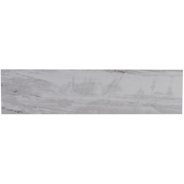Mansfield 6 x 24 Porcelain Wood Look Tile in Silver Springs by Itona Tile