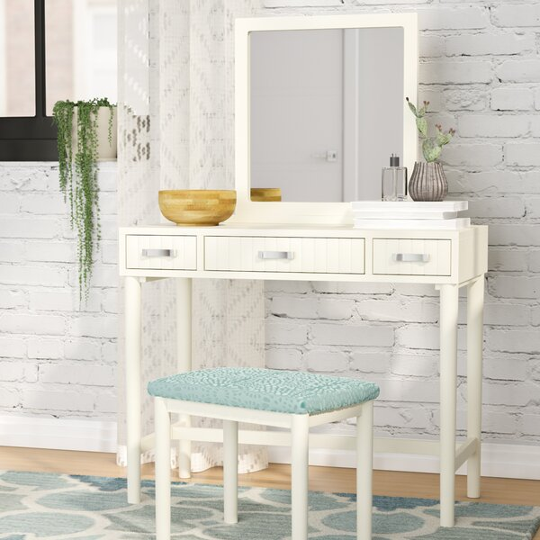 Worley Vanity Set with Mirror by Latitude Run