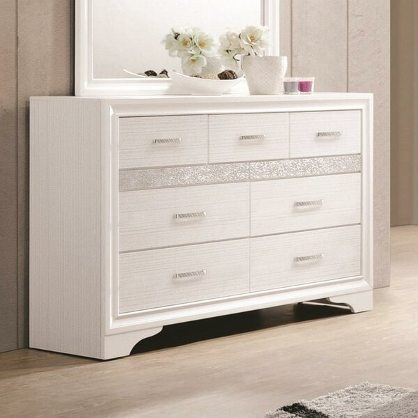Lanier 7 Drawer Double Dresser by House of Hampton