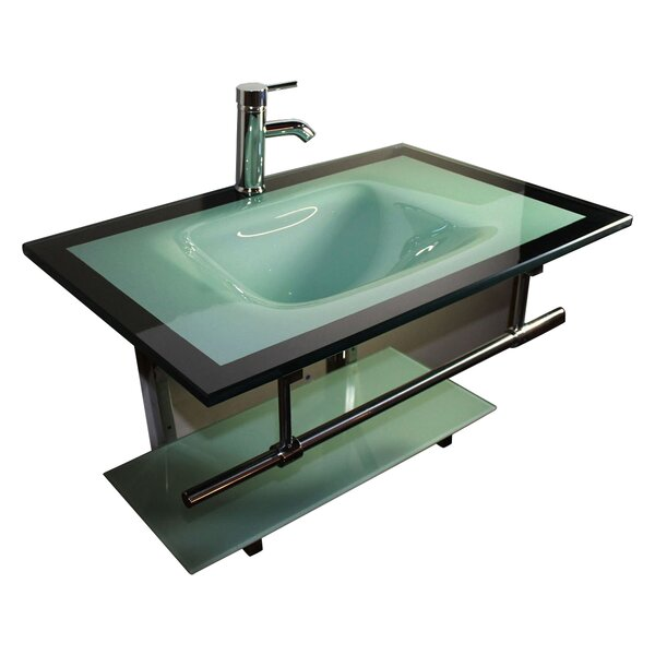 Schroeppel 31 Single Floating Bathroom Vanity Set by Bloomsbury Market