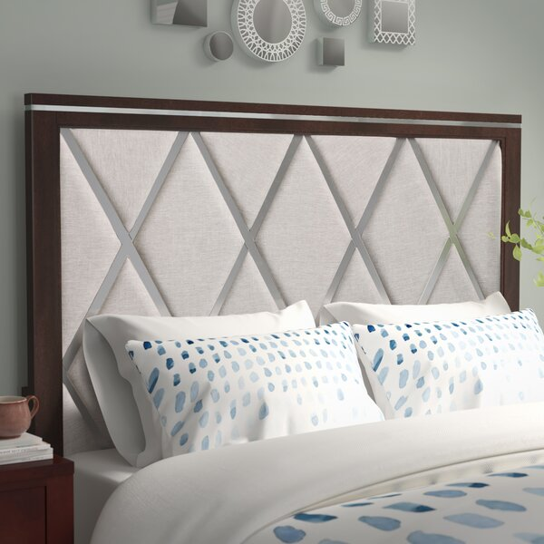 Lonny Upholstered Panel Bed by Latitude Run