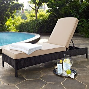 Belton Chaise Lounge with Cushion