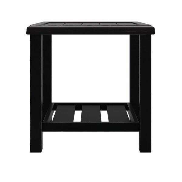 Luedtke Aluminum Side Table by Ivy Bronx