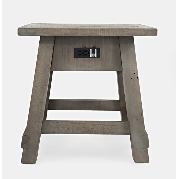 Jarod Solid Wood End Table By Laurel Foundry Modern Farmhouse