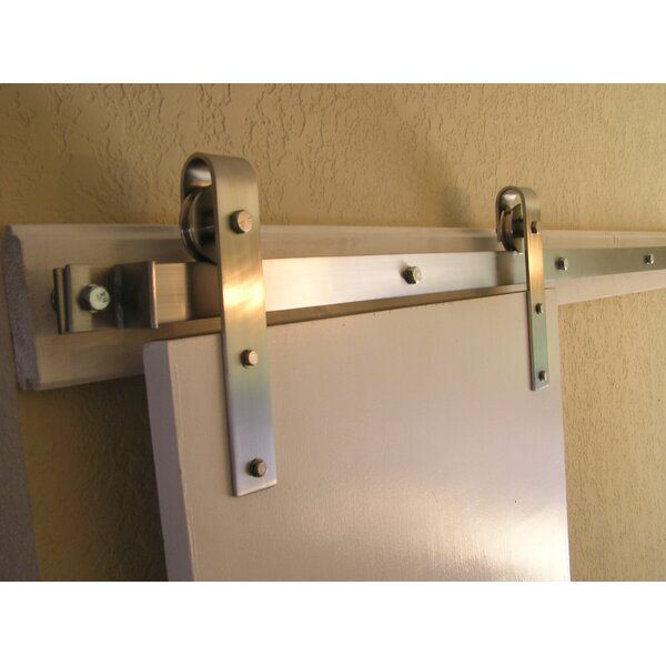 Barn Door Rolling Hardware Kit by Agave Ironworks