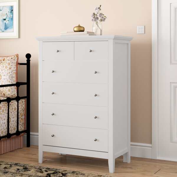 Aguilera 6 Drawer Chest by Grovelane Teen
