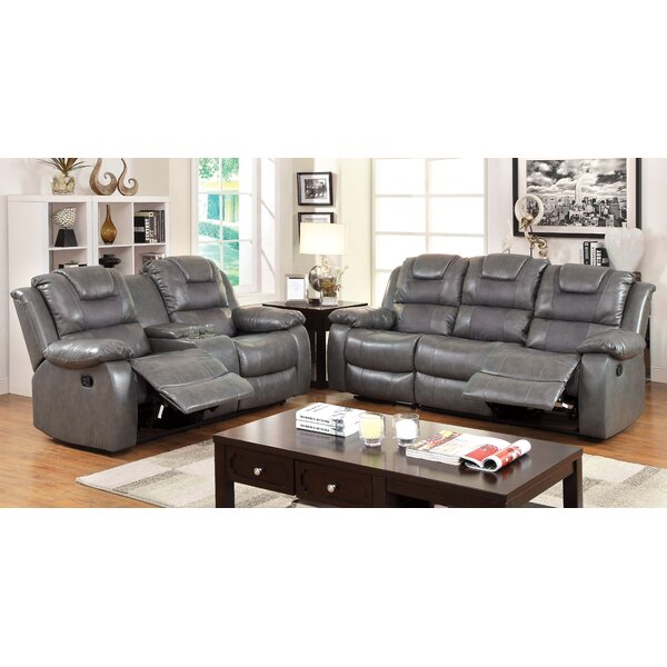 Harrison Reclining Configurable Living Room Set by Hokku Designs