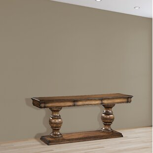 Settle Urn Pedestal Console Table