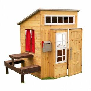 Kids Log Cabin Play House Wayfair