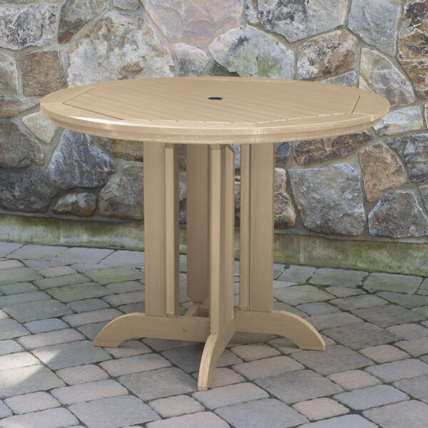 Charlcombe Plastic/Resin Dining Table by Longshore Tides