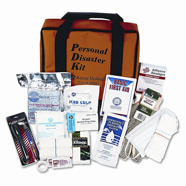 Personal Disaster Kit for One Person by Acme United Corporation