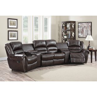 Abbie Home Theater Recliner (Row of 4) by Wildon Home ®