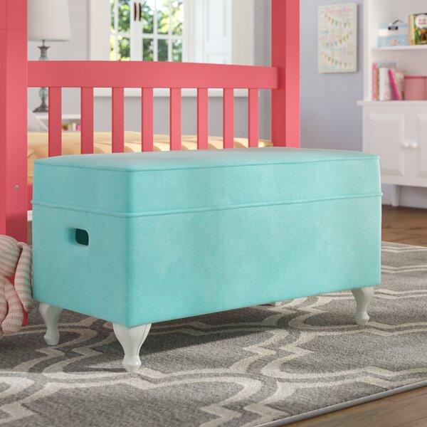 Leslie Upholstered Storage Bench by Viv + Rae
