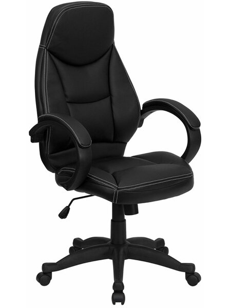 Krouse High-Back Ergonomic Executive Chair by Symple Stuff