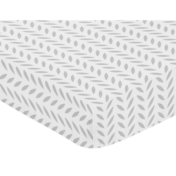 Forest Deer Fitted Crib Sheet by Sweet Jojo Designs