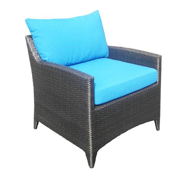 Molimo Savana Club Patio Chair With Cushion By Red Barrel Studio