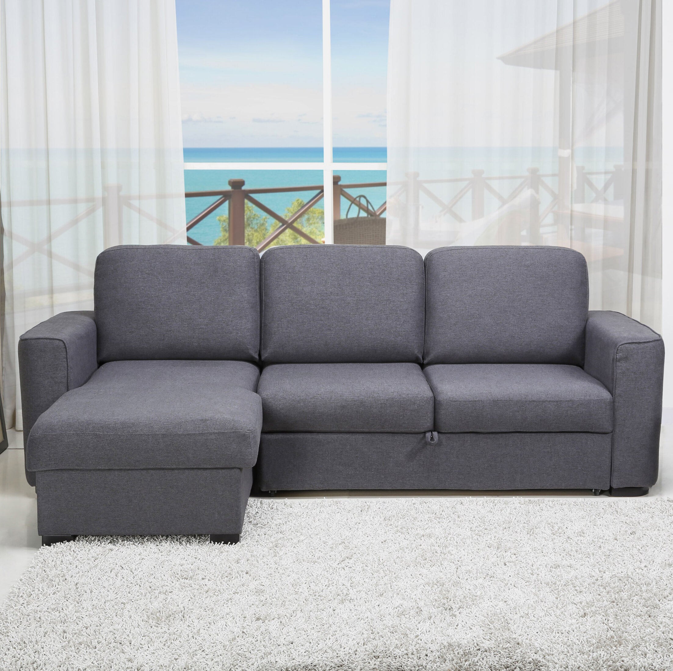 singular sectional gray com furniture grey coral configurable with inspirations graygrey spaces living tempurpediceper of sofas sleeper boyslashfriend full dark amazon size photo sofa queen