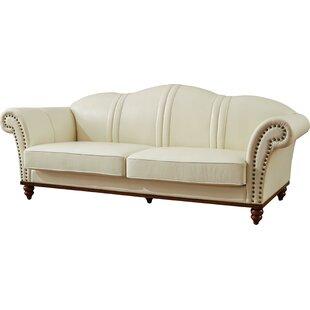 Barkett Leather Sofa