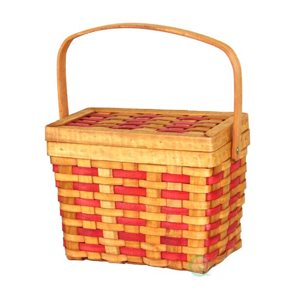 Chipwood Picnic Rectangle Basket by Quickway Imports