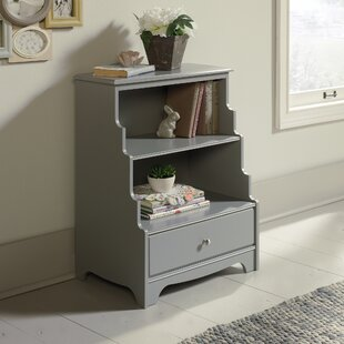 Wales Standard Bookcase Bungalow Rose