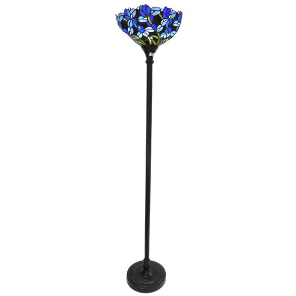 Hughes 70 LED Torchiere Floor Lamp by Astoria Grand