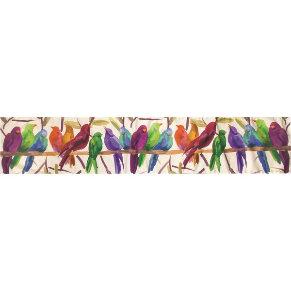 Flocked Together Dye Runner by Manual Woodworkers & Weavers