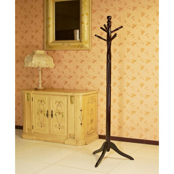 Wood Coat Stand by Mega Home