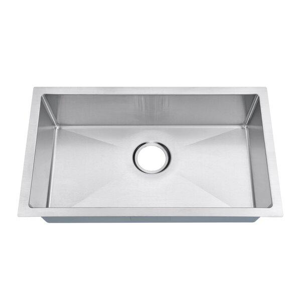 18 Gauge 27 L x 16 W Undermount Kitchen Sink