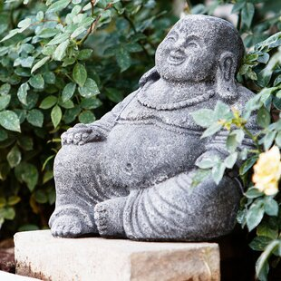 Laughing Buddha Statue. By Garden Age