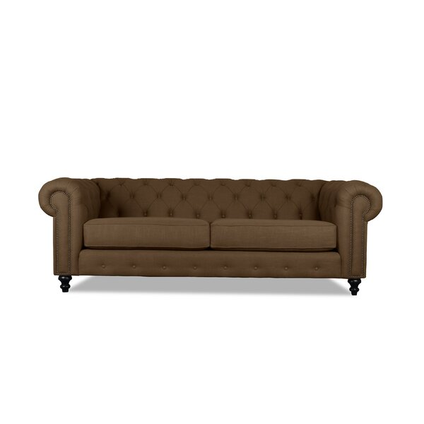 New Collection Hanover Chesterfield Sofa by South Cone Home by South Cone Home