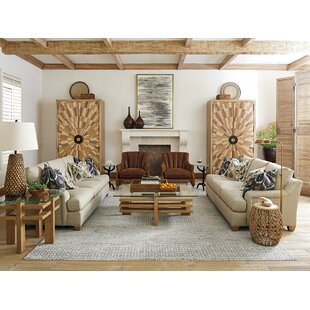 Los Altos 2 Piece Down Feather Configurable Living Room Set by Tommy Bahama Home