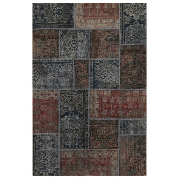 One-of-a-Kind Lindenfield Hand-Knotted Wool Brown Area Rug by Bloomsbury Market